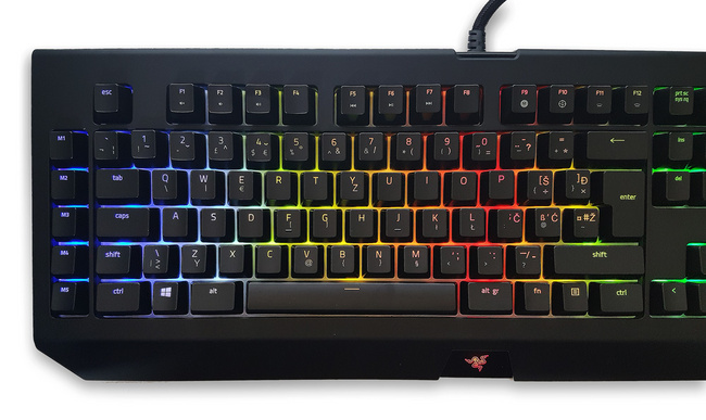 Keyboard Razer BlackWidow Chroma V2 Orange Switch, UK SLO g