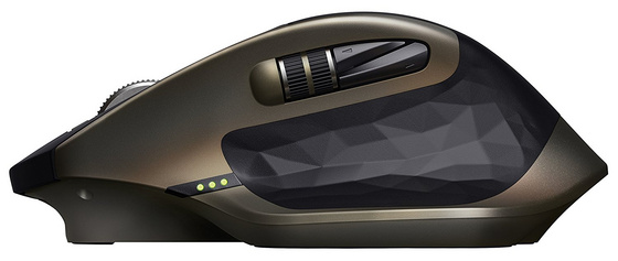 Mouse Logitech MX Master for Business, Unifying, DarkField laser, rech.