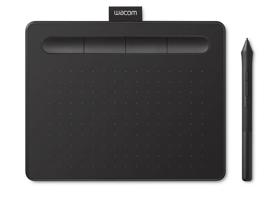 Wacom Intuos S Black, wired (2018)