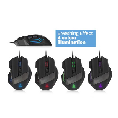 Mouse Ewent PLAY Gaming, 3200 dpi
