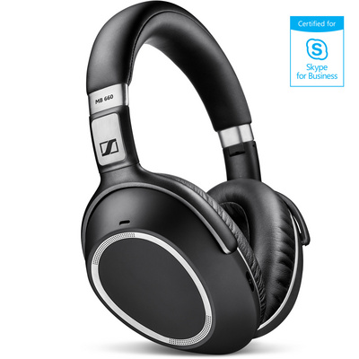 Headset Sennheiser MB 660 UC MS Wireless, active noise cancelling