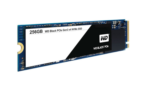 SSD 256GB M.2 80mm PCI-e 3.0 x4 NVMe, TLC V-NAND, WD Black WDS256G1X0C