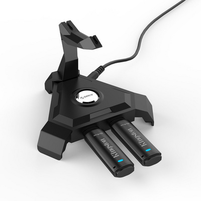 USB hub 4-port, USB 2.0, with Cable Management, ORICO LH4-U2