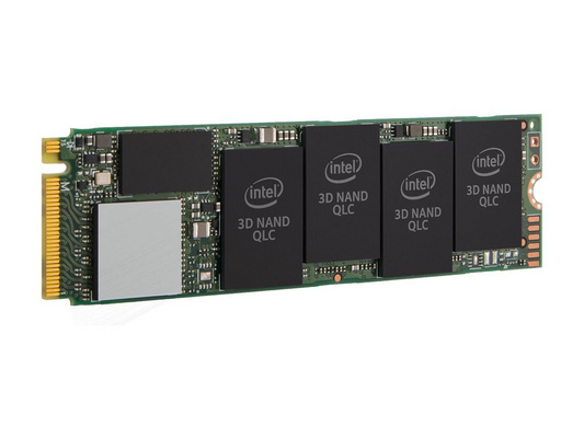 SSD 512GB M.2 80mm PCI-e 3.0 x4 NVMe, 3D2 QLC, Intel 660p