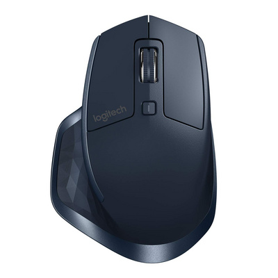 Mouse Logitech MX Master 2S, Bluetooth, DarkField laser, rech., navy blue
