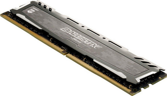 RAM DDR4 8GB PC4-21300 2666MT/s CL16 SR x8 1.2V Crucial BX Sport LT GRAY