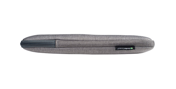 Bag for notebook Gecko Universal Zipper sleeve 15'', Grey ZSL15C11