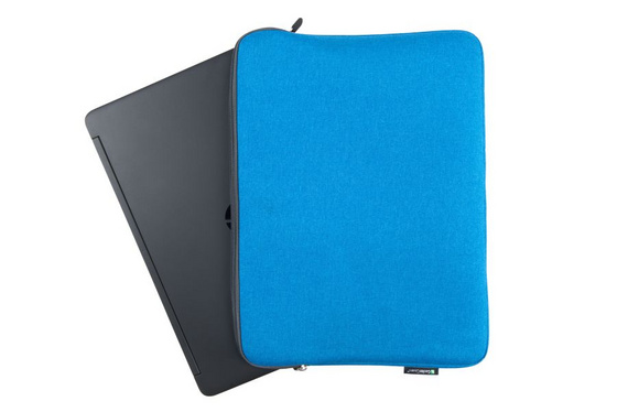 Bag for notebook Gecko Universal Zipper sleeve 17'', Blue ZSL17C2