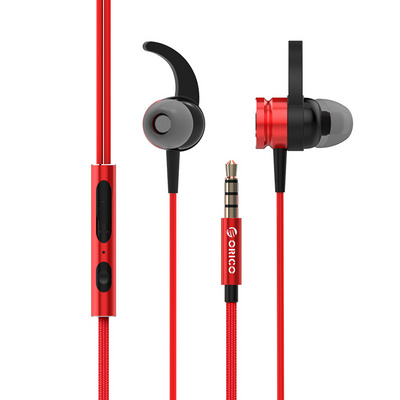 Headset ORICO In-Ear Sporting, Red