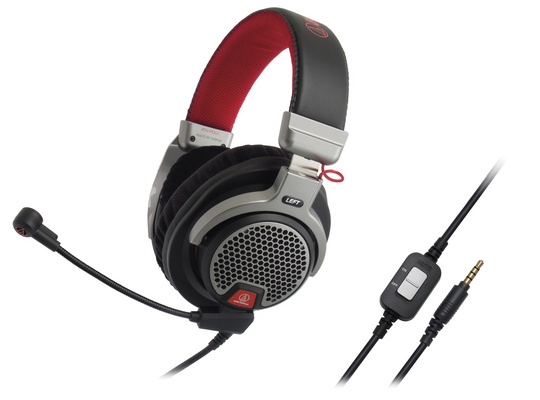 Headset Audio-Technica ATH-PDG1 Gaming, Black