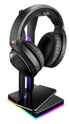 Headset stand ASUS ROG Throne Qi, DAC, RGB