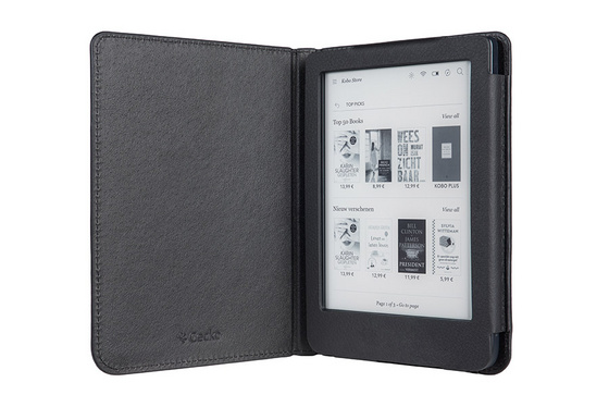 Cover Gecko Luxe, for Kobo Clara HD, black