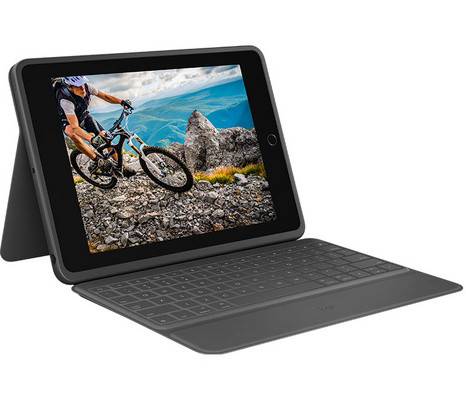 Keyboard Logitech RUGGED FOLIO for iPad (7th gen.), SLO g.