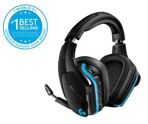Headset Logitech G935 Wireless 7.1 LIGHTSYNC Gaming