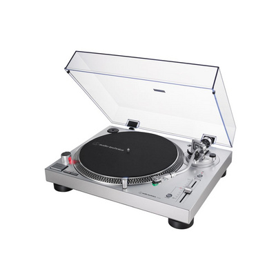 Turntable Audio-Technica AT-LP120XUSB, silver
