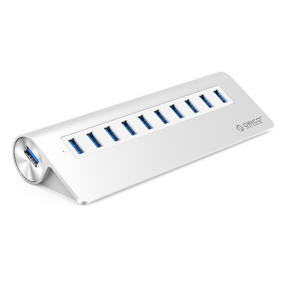 USB hub 10-port USB 3.0, Power supply, ALU, ORICO M3H10