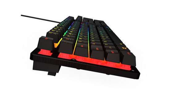 Keyboard UVI GREED, Mem-Chanical Switch, RGB, USB, SLO