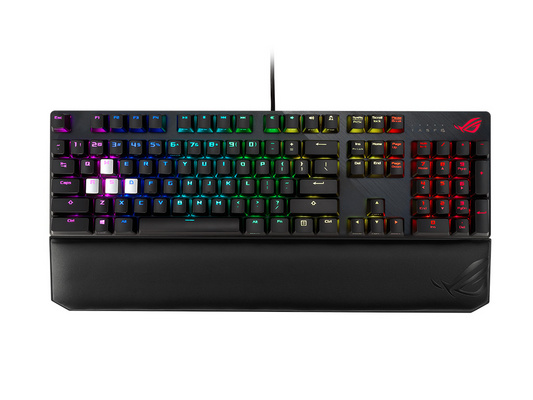 Keyboard ASUS ROG Strix Scope Deluxe, MX Silent Red, RGB, USB, US SLO g.