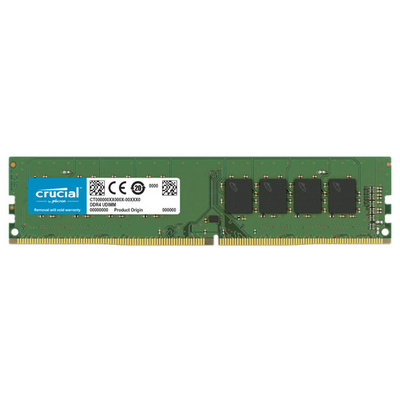 RAM DDR4 16GB PC4-25600 3200MT/s CL22 DR x8 1.2V Crucial