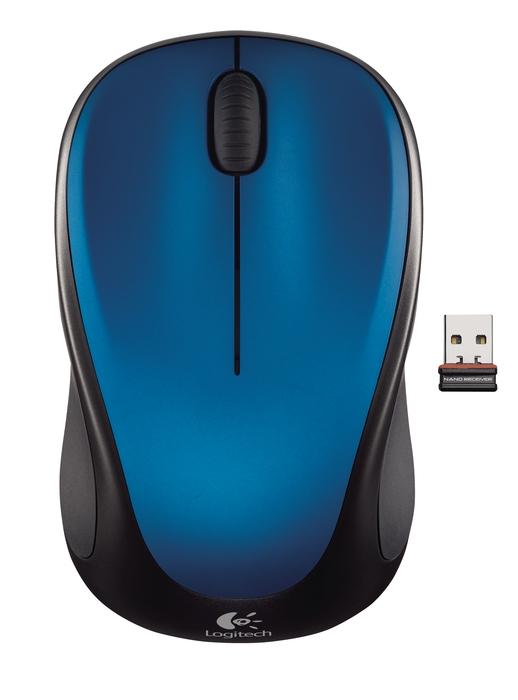 Logitech M235 Wireless, AO, nano, blue :: Eventus Sistemi