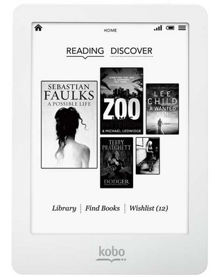 E-reader Kobo GLO, 6