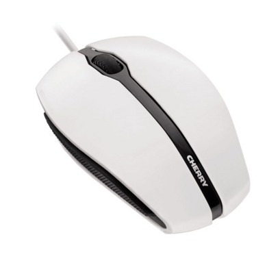 Mouse Cherry Gentix, white, USB