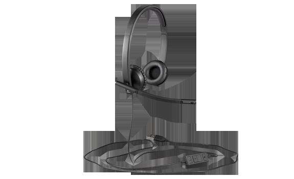 headset logitech oem  h570e  stereo  usb    eventus sistemi