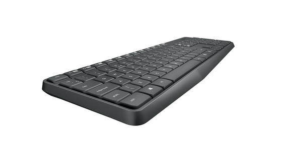 Keyboard and mouse Logitech Wireless Combo MK235, US