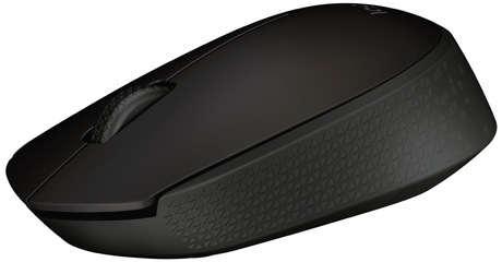 Miška Logitech B170 Wireless, črna