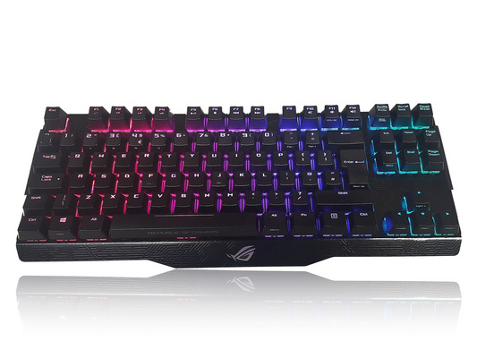 Tipkovnica ASUS Claymore Core, MX Red, RGB, USB, UK SLO g.