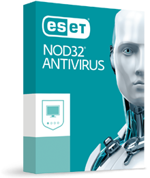 ESET NOD32 Antivirus BOX, 1 leto