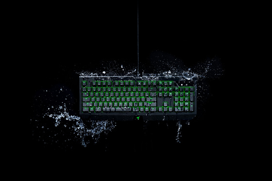 Tipkovnica Razer BlackWidow Ultimate Green Switch, vodoodporna, UK SLO g.