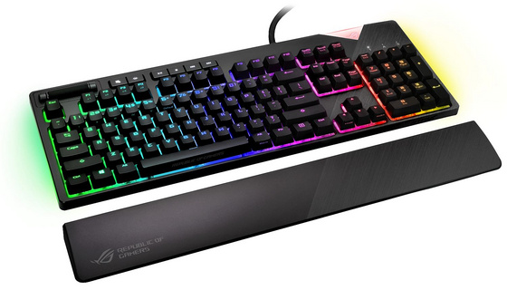 Tipkovnica ASUS ROG Strix Flare, MX Red, RGB, USB, UK SLO g.