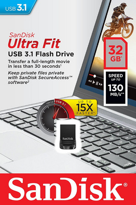 USB ključek 32GB Sandisk Cruzer Ultra FIT USB 3.1
