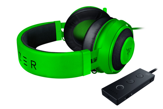 Slušalke Razer Kraken Tournament Green