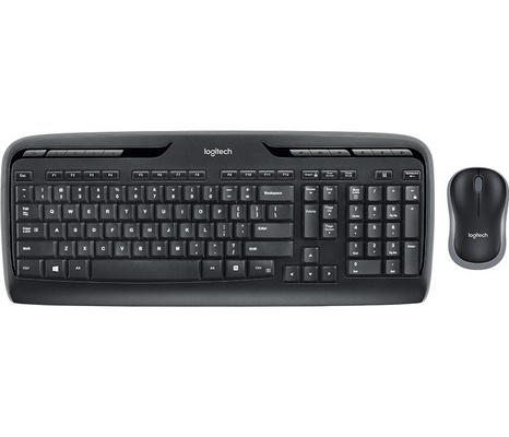 Tipkovnica in miška Logitech Wireless Combo MK330, SLO