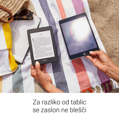 "E-bralnik Kindle Paperwhite 2018 SP, 6"" 32GB WiFi, 300dpi, Special Offers, črn"