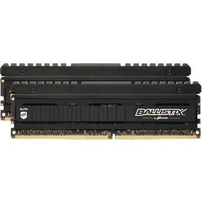 RAM DDR4 16GB Kit (2x 8) PC4-32000 4000MT/s CL18 SR x8 1.35V Crucial BX Elite