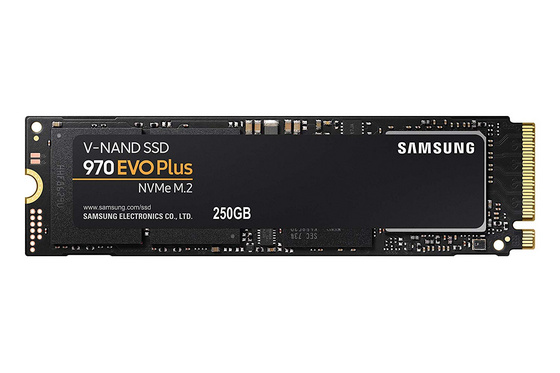 SSD 250GB M.2 80mm PCI-e x4 NVMe, TLC V-NAND, Samsung 970 EVO PLUS