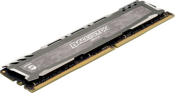 RAM DDR4 16GB Kit (2x 8) PC4-24000 3000MT/s CL15 SR x8 1.35V Crucial BX Sport LT