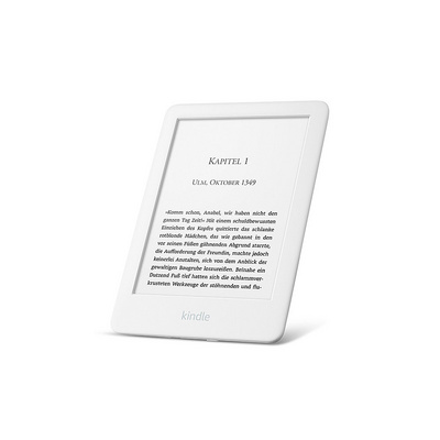 "E-bralnik Kindle 2019 SP, 6"" 4GB WiFi, 167dpi, Special Offers, bel"
