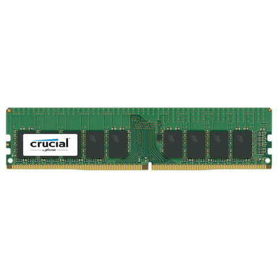 RAM DDR4 8GB PC4-19200 2400MT/s CL17 ECC Reg DR x8 1.2V Crucial
