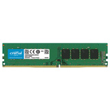 RAM DDR4 4GB PC4-19200 2400MT/s CL17 SR x8 1.2V Crucial
