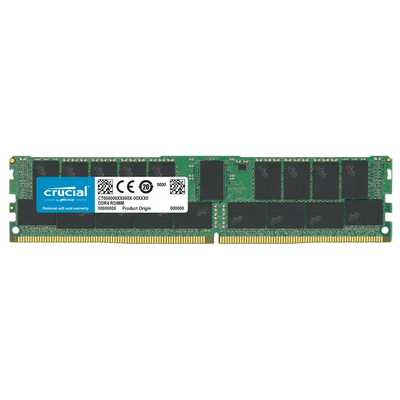 RAM DDR4 32GB PC4-23400 2933MT/s CL21 ECC Reg DR x4 1.2V Crucial