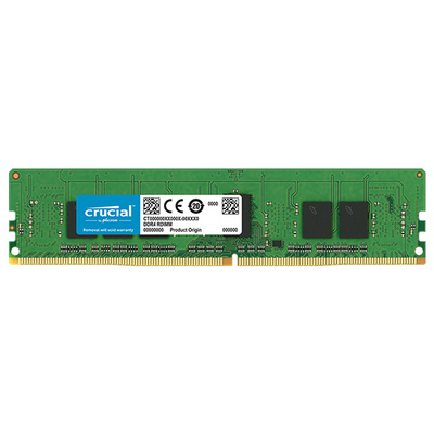 RAM DDR4 4GB PC4-21300 2666MT/s CL19 ECC Reg SR x8 1.2V Crucial
