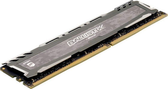 RAM DDR4 8GB PC4-25600 3200MT/s CL16 SR x8 1.35V Crucial BX Sport LT