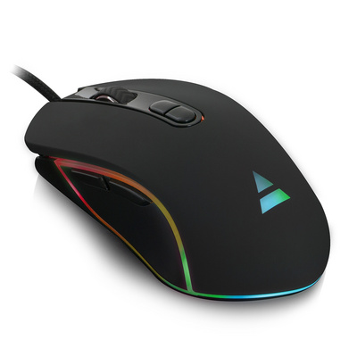 Miška Ewent PLAY RGB Gaming, 4800 dpi, USB