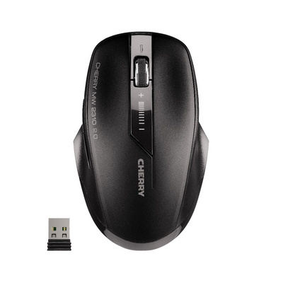 Miška Cherry MW 2310 Wireless 2.0, črna, USB