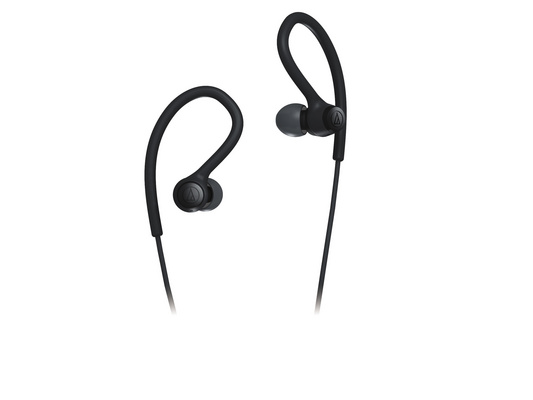Slušalke Audio-Technica ATH-SPORT10 In-Ear, črne