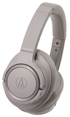 Slušalke Audio-Technica ATH-SR50BT Wireless, sivo-rjave